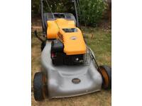 McCulloch Self Propelled Petrol lawnmower rear roller Briggs and strattom