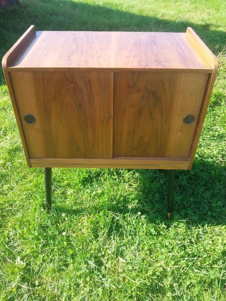 1960s Record Cabinet Retro Vintage 1960s 70s Record Cabinet In Rugeley