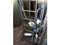 Galvanised Safety Ladders