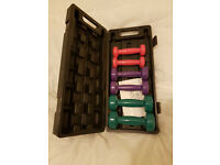 Women's dumbell set £15
