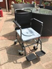 Brand new Invacare Wheel chair commode