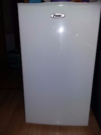 1 month used Freezer small white