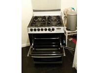 Cannon Henley cooker: gas hob, electric oven, needs converting back from bottle to main gas