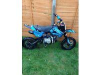 Pitbike WPB Stomp KZR CRF70 140cc 2013