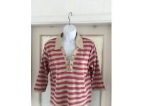 Ladies Monsoon Casual top size 18