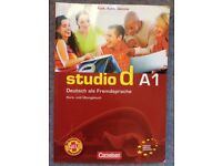 Studio D A1 Kurs- Und Ubungsbuch 9783464207079 Paperback with CD