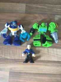 Turtles and autobots