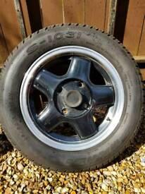 4 x Revolution alloy wheels suitable for VW Beetle 1968 onwards