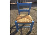 Child's wooden chair, pre loved