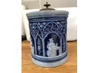 ANTIQUE ceramic container / vase