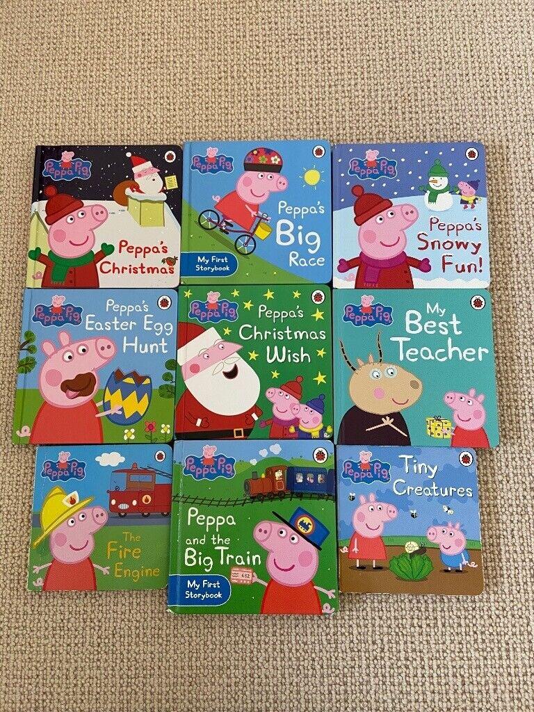 Peppa Pig hardback books