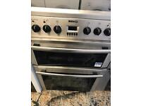 Beko steel 60cm full electric cooker