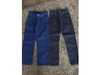 Ralph Lauren x2 jeans size 6 & 7