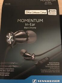 Sennheiser Momentum In-Ear earphones for sale 60 pounds