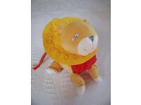 Un-used, but stored Ikea Barnslig Lejon child's lion soft plush toy. Age: 0+. Machine washable. £2.