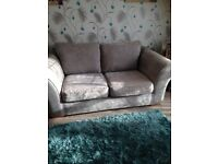 Grey 2 seater. Next sofa