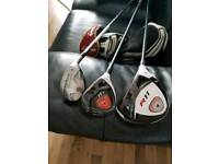 Taylormade set driver,3 fairway wood and rescue