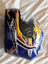 motorbike helmet size xs = 56-58cm