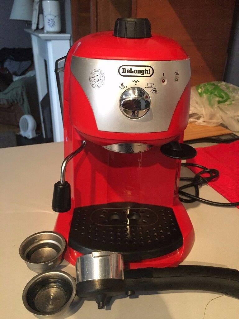 DeLonghi espresso coffee machine GBP 28 in great condition!!