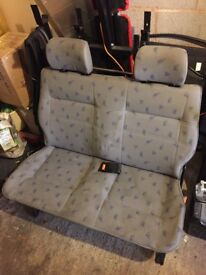 Folding rear van seats for VW T4 Ford Transit