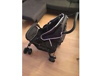 Practically new Hauk stroller, light and sturdy