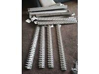 Defenders Prickle Strip Fence Top N Sides 17 strips of 45cm Individual L-shape Lengths
