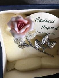 Crystal Carlucci Italian Crystal BNIB