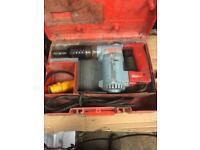 Hilti te17 breaker / hammer drill good working order