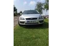 beautifull silver Ford Focus petrol 1.8 Slight damage to back bumper hence good price!!!!