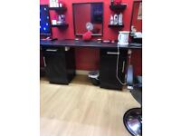 Professional unit set for salon and barber shop