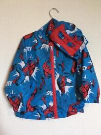 Spiderman coat 2-3 yrs