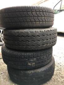 Vivaro traffic primstar wheels & tyres