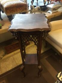 Tall chinese style lamp table
