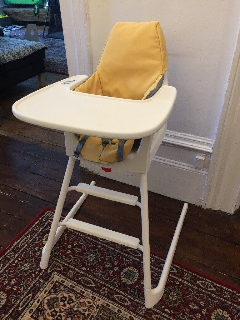 Ikea Langur Baby High Chair And Junior In One Hardly Used