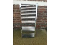 chrome towel radiator free to first person to collect