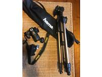 Nikon D3300 camera with accessories