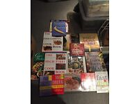 Joblot of diet and recipe books