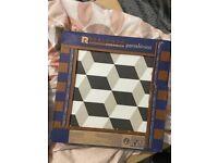 Grey Cube Tiles