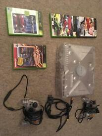 Original Xbox with games and remotes