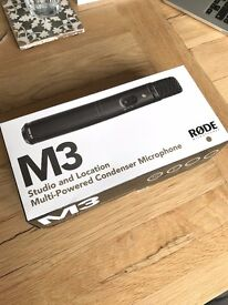 *Brand New* Rode M3 Studio Microphone - Condenser Mic - Shure AKG