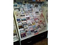 Greetings Card Retail Shop Display Stand With Drawers