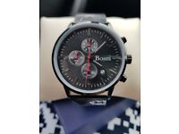 Mens Stainless Steel Chronograph Watch