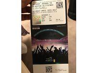 6 tickets for wladimar klitshko vs Joshua at Wembley stadium Block 133, row 11
