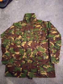 Genuine NATO camouflage jacket