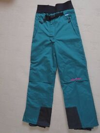 Karrimor ski salopettes. Unisex medium size. (Mens' 34 waist/ Ladies' 14)