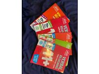 11+ books