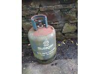 15kg butane gas cylinder 3/4 full