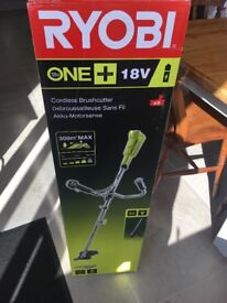 Ryobi strimmer new and in box