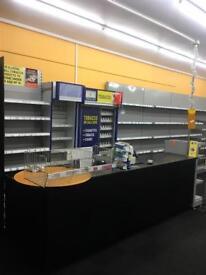 Shop Cigetettes gantry & counter for sale - sold separately