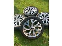 """21"""" 22"""" Range Rover Sport Vogue Discovery Alloy Wheels Conti Tyres Autobiography"""